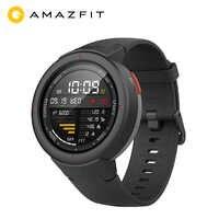 Version mondiale Huami AMAZFIT Verge 3 GPS montre intelligente hommes IP68 AMOLED écran réponse appels Smartwatch multi-sports Fitness Tracker