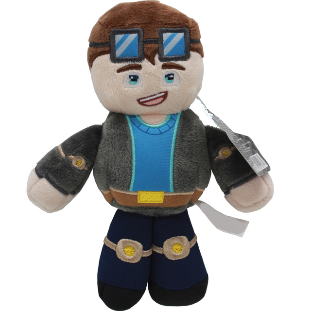 a1130abf20d0 Game Tube Heroes Plush Toy DanTDM Captain Sparklez Sky Exploding Jeromeast Stuffed  Doll Gifts For Kids