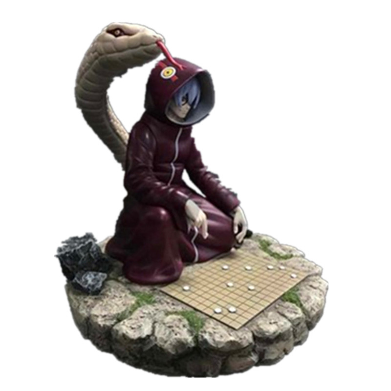 Naruto Medical Ninja Yakushi Kabuto Play Chess Scenes GK Resin Statue Action Figure Collection Model Toy X718Naruto Medical Ninja Yakushi Kabuto Play Chess Scenes GK Resin Statue Action Figure Collection Model Toy X718