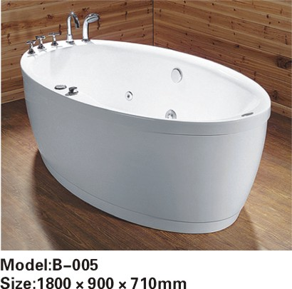 Luxury bathtub whirlpool acrylic massage bathtub