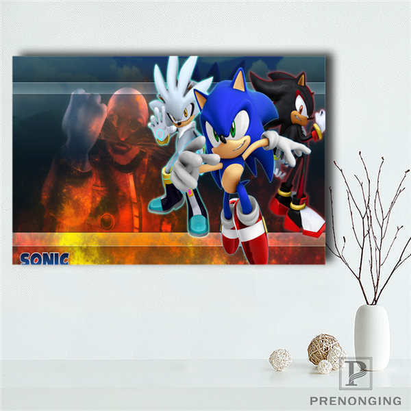 G928 Sonic Boom Q Canvas Painting Wall Silk Poster Cloth Print