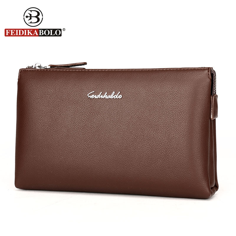 Famous Brand Wallet Men Carteras Men Wallet Clutch High Quality Genuine Leather Male Handy Bags Purse Man Monederos Wallets 2016 famous brand new men business brown black clutch wallets bags male real leather high capacity long wallet purses handy bags