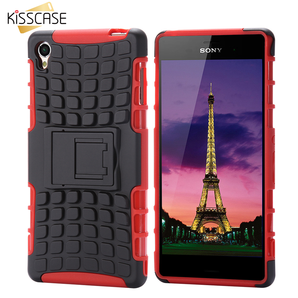 KISSCASE Case For Sony Xperia Z3 Z4 Z2 Case TPU Plastic Shockproof Mobile Phone Cover For Sony Xperia Z3 D6603 D6643 D6653 Z4 Z2