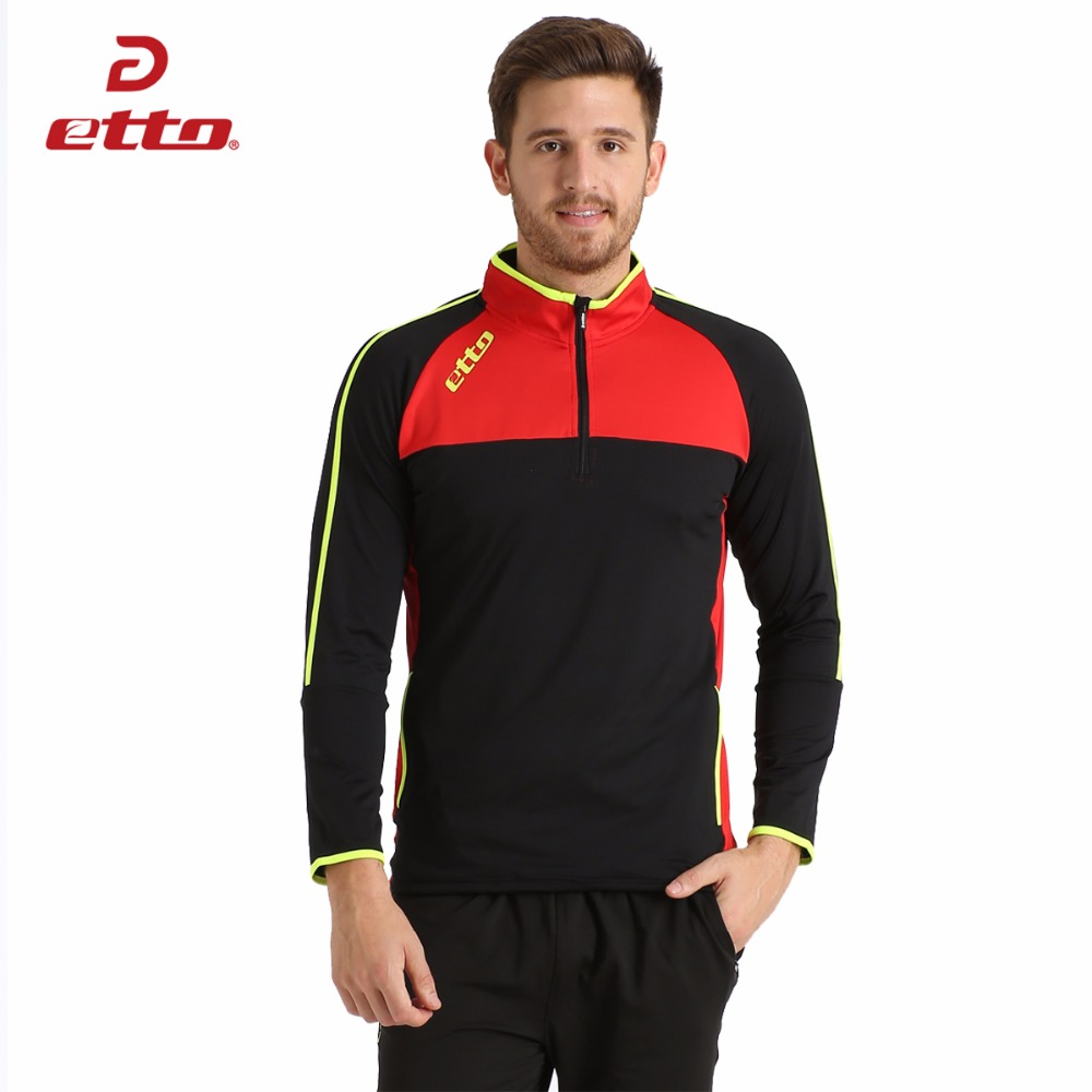 Etto Men Soccer Jerseys College Athletic Futebol camisa de manga - Ropa deportiva y accesorios