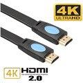 Новый Мужчинами Hdmi Кабель 2.0 Версия Высокая Скорость HDMI HDTV LED LCD PS4 2160 P 4 К Плоским Blu-Ray 18 Гбит кабель