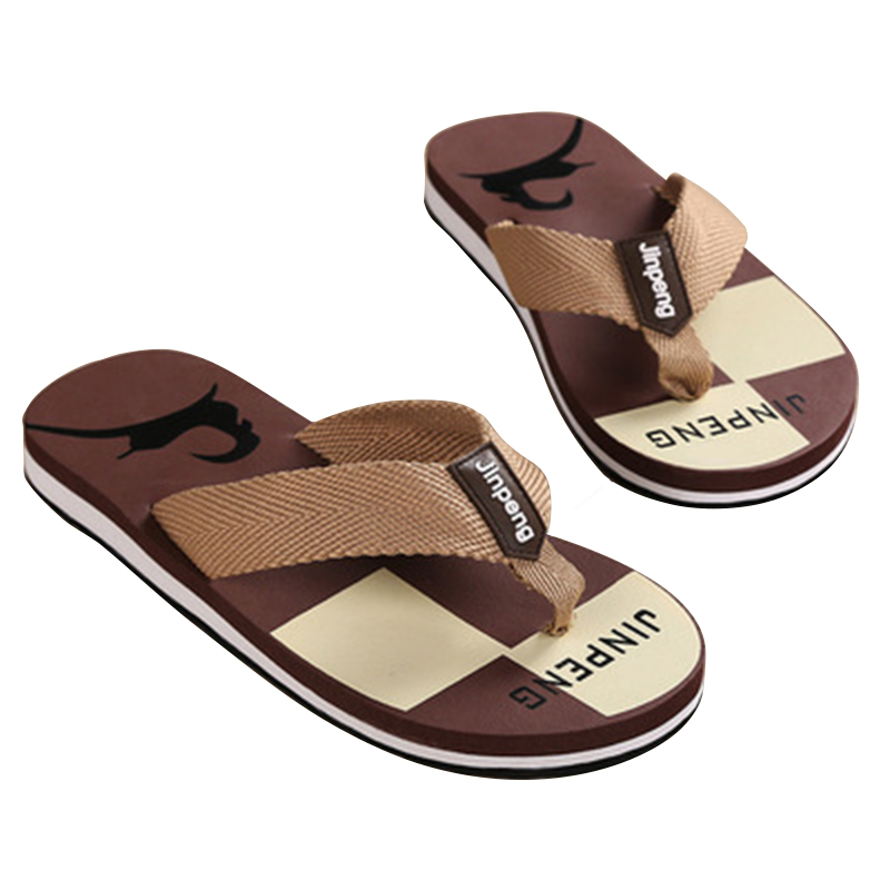 Zapatillas Hombre New Rushed 2018 Summer Fashion Men's Flip Flops Beach Sandals for Men Flat Slippers Non-slip Shoes Pantufa 53 недорго, оригинальная цена