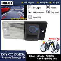 2.4G Wireless Rear View Camera Car Reverse Backup HD Parking Camera Night Vision Truck Rearview Camera for KIA SORENTO SPORTAGE
