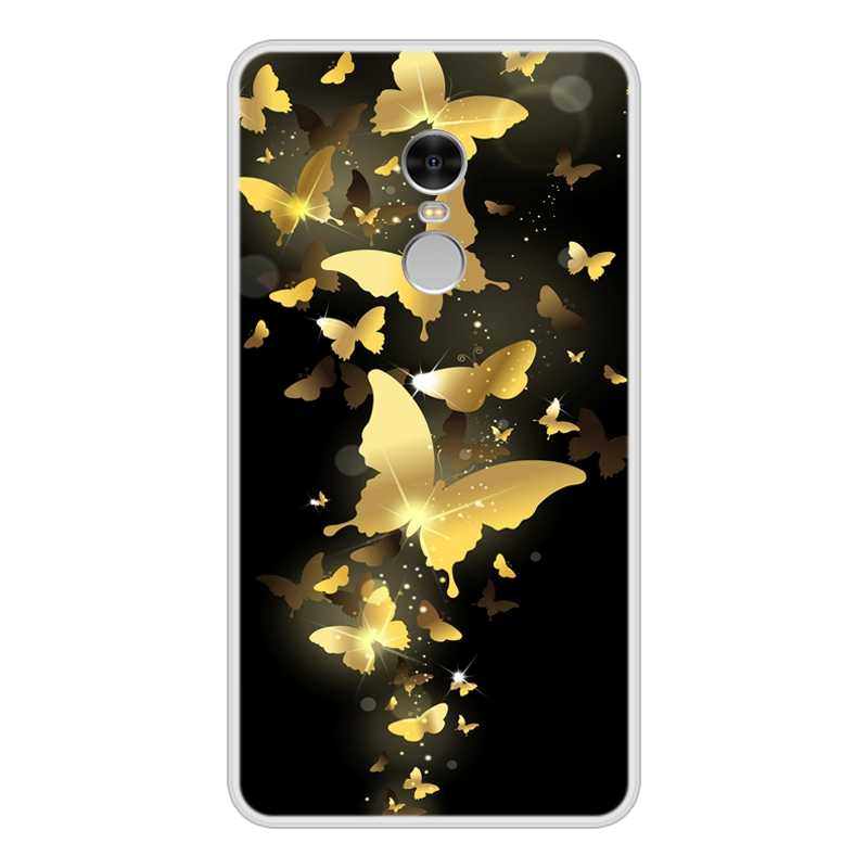 Phone Case untuk Xiaomi Redmi Note 4 TPU Silikon Lembut Desain Keren Pola Cetak untuk Xiaomi Redmi Note 4 Kasus