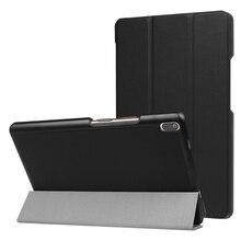 Тонкий магнитный складной PU чехол для lenovo Tab4 tab 4 8 плюс TB-8704x TB-8704F планшет чехол для lenovo Tab 4 8 плюс Чехол + пленка ручка