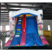 Настраиваемые ПВХ 4*3*3,1 м слайд надувные небольшой слайд распродажа