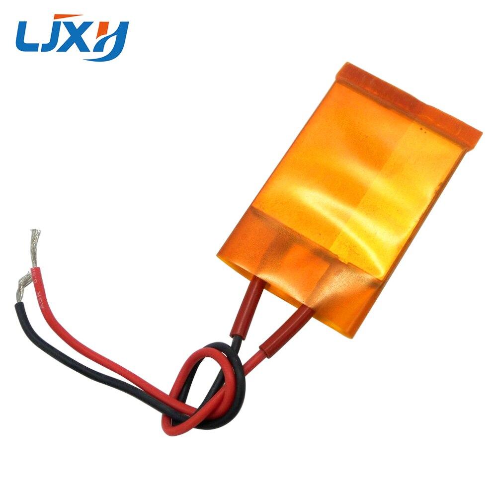 купить LJXH 2PCS AC220V/110V 44x40x3.5mm PTC Heating Element Heater Plate Film 170/200/230/270/230 degrees High-power thermostatic по цене 556.22 рублей