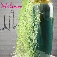 Искусственный Air трава поддельные пластиковые завод Лоза висит листья Гирлянда украшение для дома Свадебные стены фестиваль
