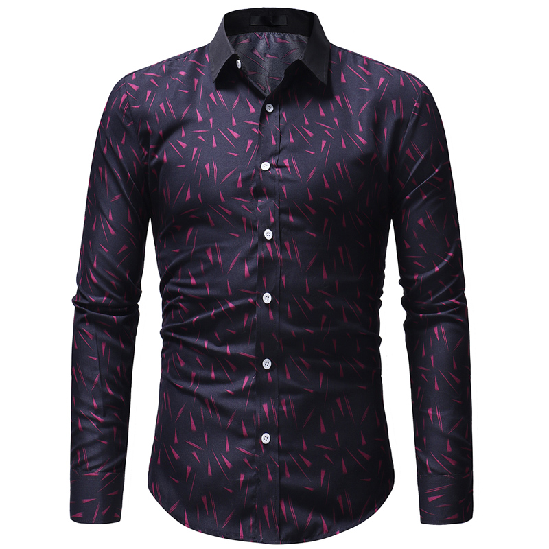 56579243 Aliexpress.com : Buy Best Selling 2019 Spring New Men Shirt Fashion Print  Camisa Masculina Men's Casual Comfortable Long sleeved Hawaiian Shirt from  ...