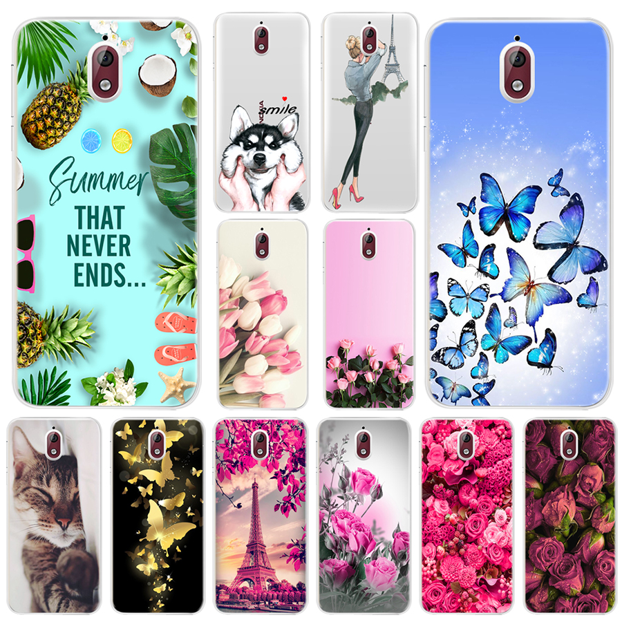 Soft <font><b>tpu</b></font> Cute Case For <font><b>Nokia</b></font> 3 <font><b>Nokia</b></font> 3.1 2.1 <font><b>6.1</b></font> 7.1 Silicone Phone Case For Coque <font><b>Nokia</b></font> 3.1 3 TA-1063 TA-1057 Case Cover Bumper image