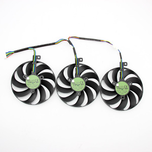 Image 3 - 3pcs/set T129215SU 7Pin GPU Card Cooler Fans For ASUS ROG STRIX GeForce RTX 2080 2080 Ti GAMING RTX2080 RTX2080Ti Fan