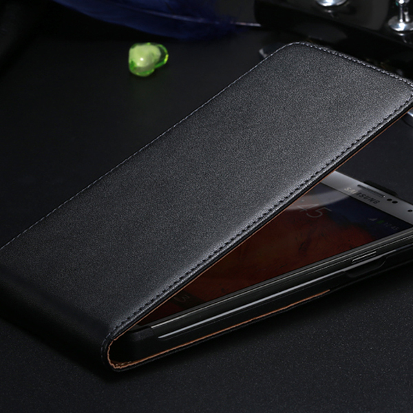 White black Vintage Real Leather Case Samsung Galaxy NOTE 3 III N9000 Korea Style Flip Mobile Phone Bag Cover note3 FLM - FlovemeOfficial Store store