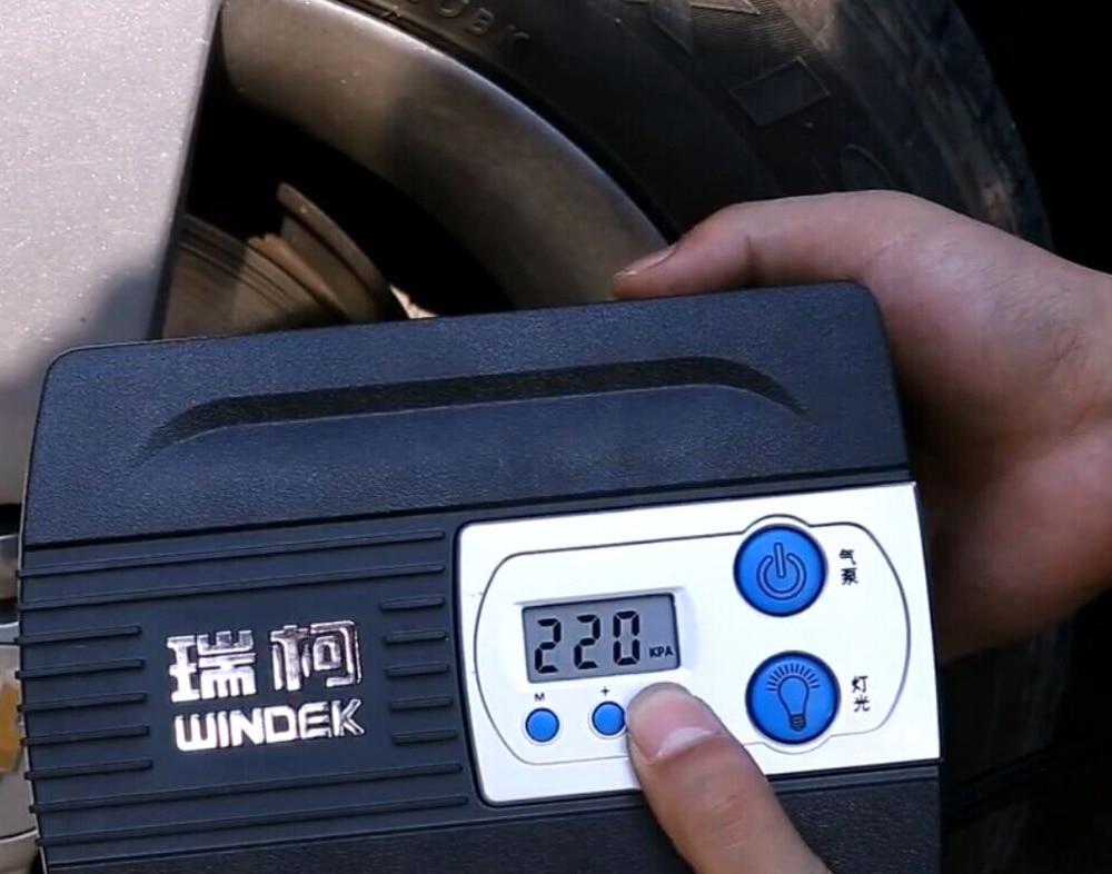 12V tire inflator