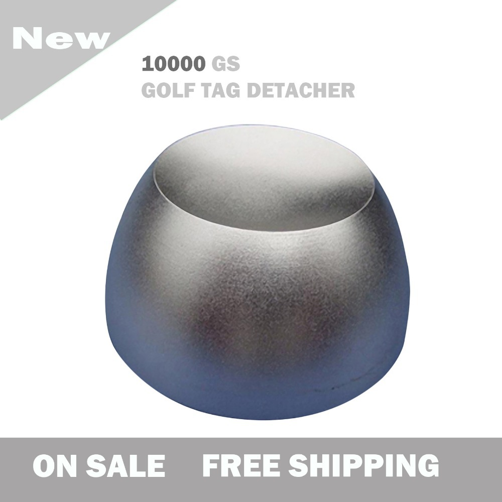 ФОТО 2017 new super golf tag detacher security tag remover 10,000gs anti-theft magnetic lock security tag detacher golf detacher