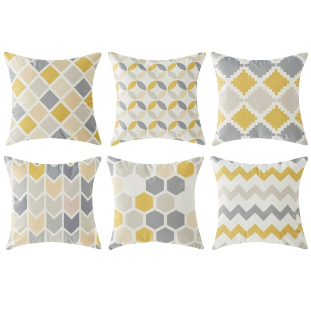 Geometric Nordic Pillowcase