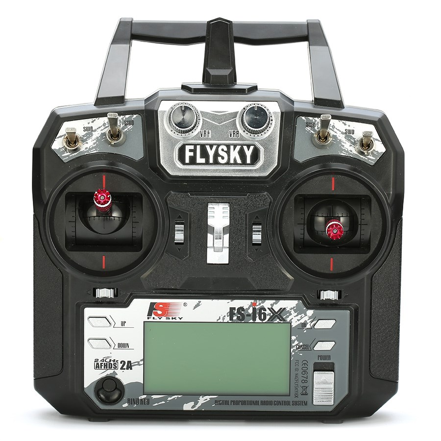 Flysky FS-i6X 10CH 2.4GHz AFHDS 2A RC Transmitter With FS-iA10B Receiver Remote Control For Rc Airplane цена