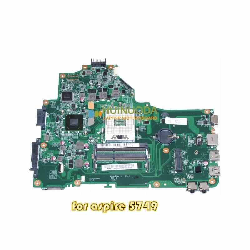 где купить NOKOTION MBRR706001 MB.RR706.001 laptop motherboard for ACER ASPIRE 5749 series DA0ZRLMB6D0 HM65 GMA HD 3000 DDR3 Mainboard по лучшей цене