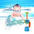 12*19 cm Brinquedos Do Cavalo de Mar de Rega Por Aspersão de Bombeamento Bebê Água Do Banho Do Bebê Brinquedo Natação Acessório Pulverizador Da Bomba de Água Brinquedos de praia