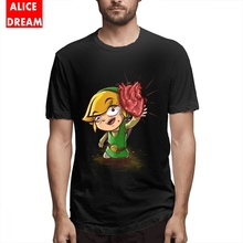 The legend of zelda t shirt Link Tee Unisex Real Hero T-shirt Leisure T-Shirt Crewneck AliceDream