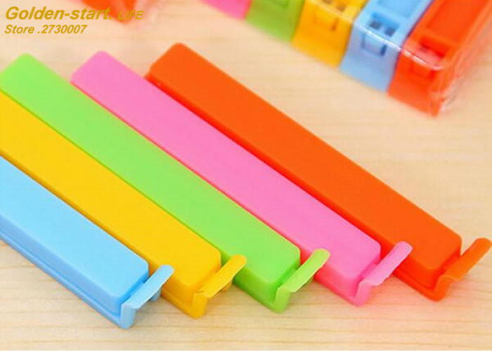 Home Food Close Clip Seal Bags Storage Sealing Clamp Rods Sealer Clips  Food processor parts