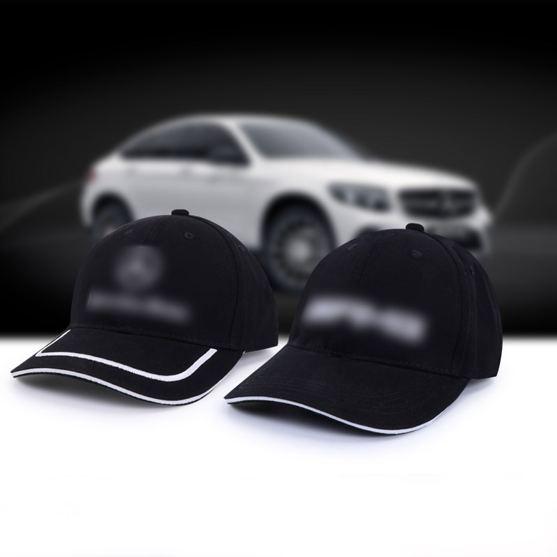 Moto Gp Car For Mercedes-Benz Hats Men Cap Cotton Brand Motorcycle Racing Baseball Caps Car Sun Snapback Black White Hats