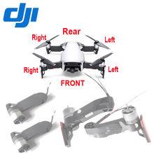 DJI Mavic Air przód/tył lewy/prawy śmigło silnik czerwony prawdziwy biały zamiennik, czarny ramię do części zamiennych Mavic Air Drone