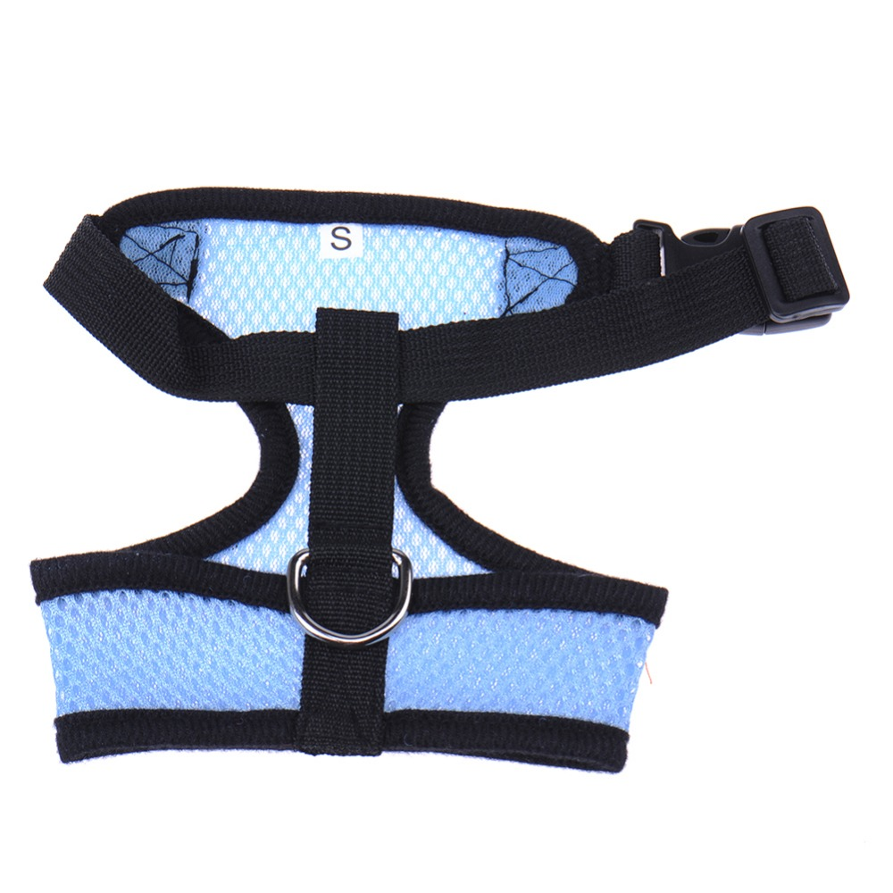 5 Size Adjustable Pet Dog Puppy Mesh Cloth Harness Pet