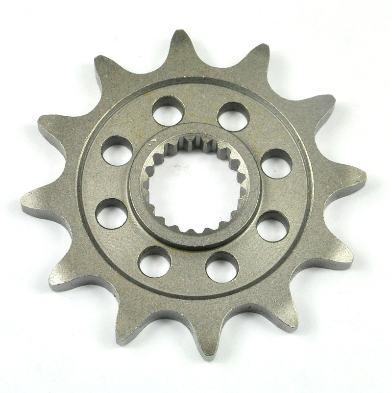 LOPOR LOPOR One Piece Quality 520-12T Motorcycle Front Sprocket For Honda Off Road CR125 RV 1997