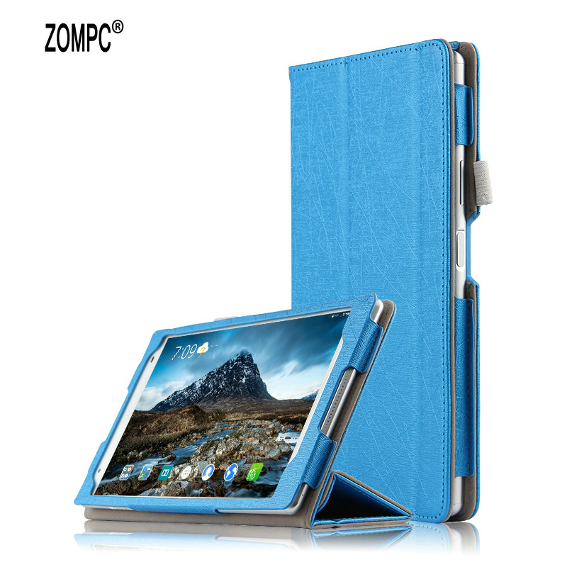3-Fold Magnetic Fashion Ultra Thin Slim Folio Flip Stand Leather Case Cover For Lenovo Tab 4 8.0 8504F Tab4 8 TB-8504F TB-8504N
