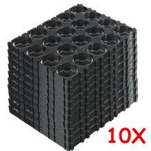 10pcs 4x5 18650 Lithium Battery Cell Batteries Spacer Holders Radiating Shell Plastic Bracket Entretoise Plastique Support