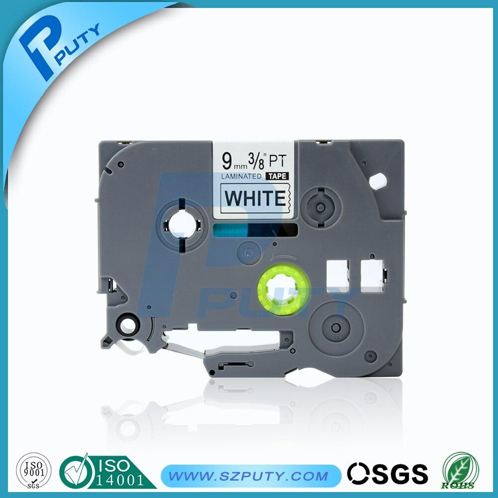 Color printing label maker - Compatible P Touch Label Tapes 9mm Black On White Tze 221 Tz 221 Tze