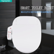 Smart toilet seat Washlet Elongated Electric Bidet cover intelligent bidet toilet seats heating sits led lightwc asiento inodoro