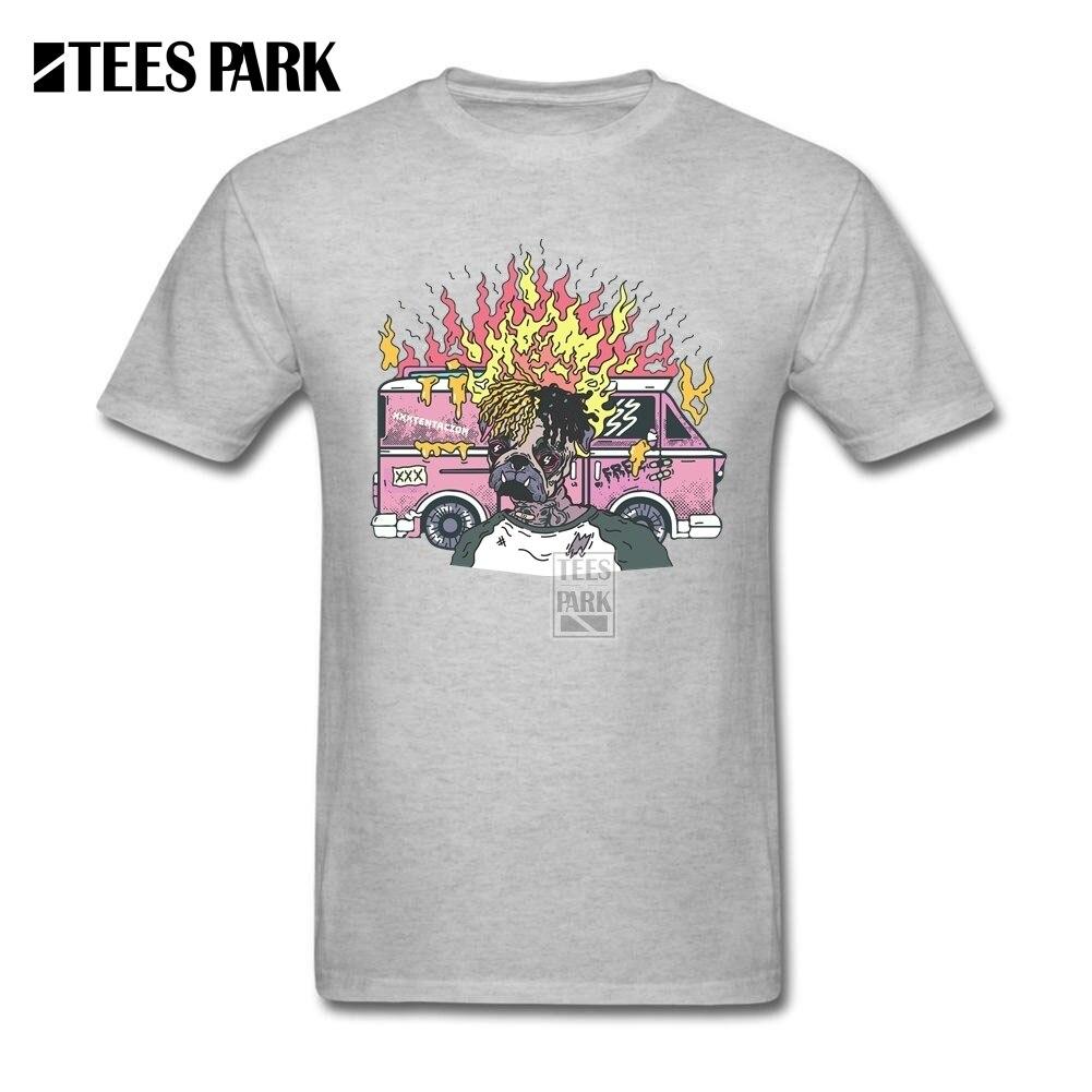 Design t shirt europe - Men Casual Shirts Xxxtentacion Male O Neck Short Sleeve Tshirs New Europe And American Youth T Shirt Design