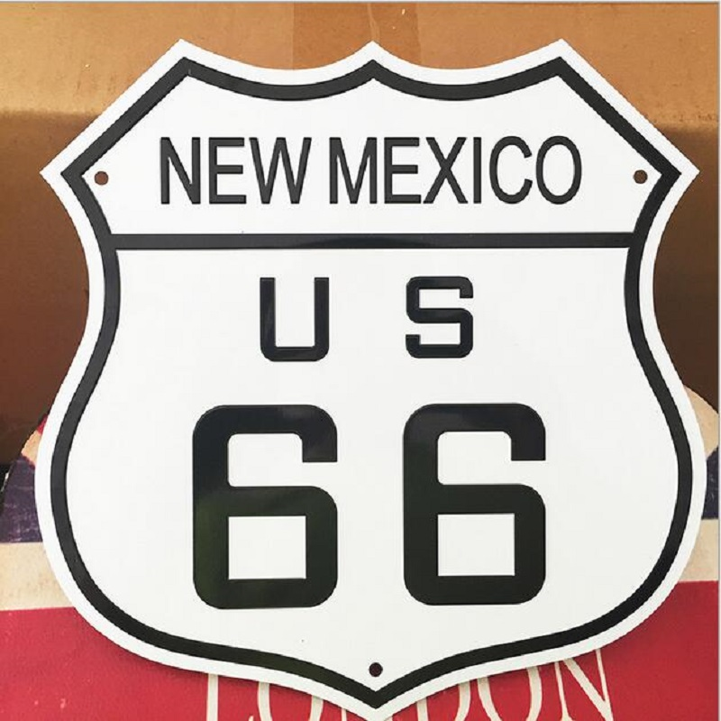 Achetez en gros la plaque d 39 immatriculation am ricaine en for Decoration murale route 66