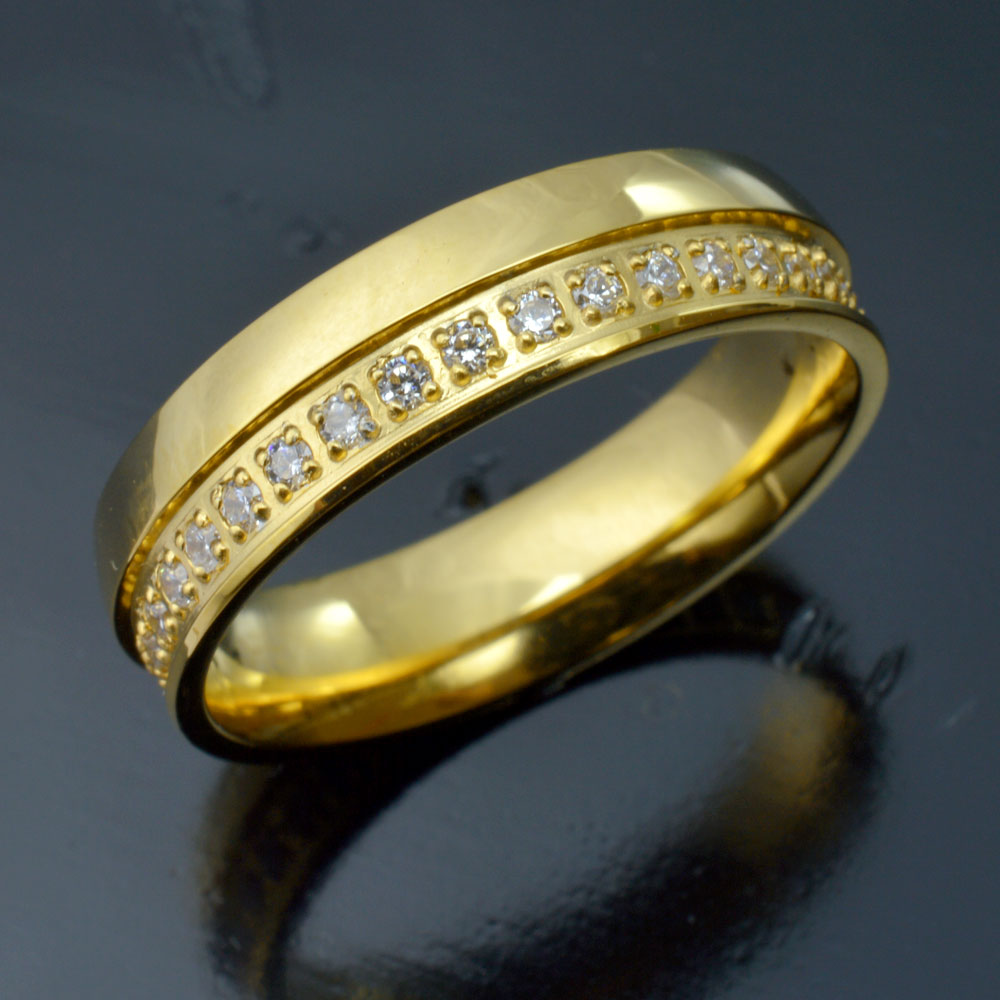 Galleria fotografica r250wa Jewelry Size 6-10 <font><b>T</b></font> <font><b>Gold</b></font> Filled Engagement Wedding Ring