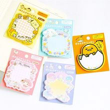 Cute Kawaii Sticky Note Post Memo Pad School Supplies Planner Stickers Stationery Post Note Paper Stickers Office New Arrive 1 pcs new cute colorful season multifunction novelty self adhesive memo pad sticky note memo post note gift stationery