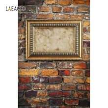 цена на Laeacco Old Brick Wall Photo Grunge Baby Portrait Photography Backgrounds Customized Photographic Backdrops for Photo Studio