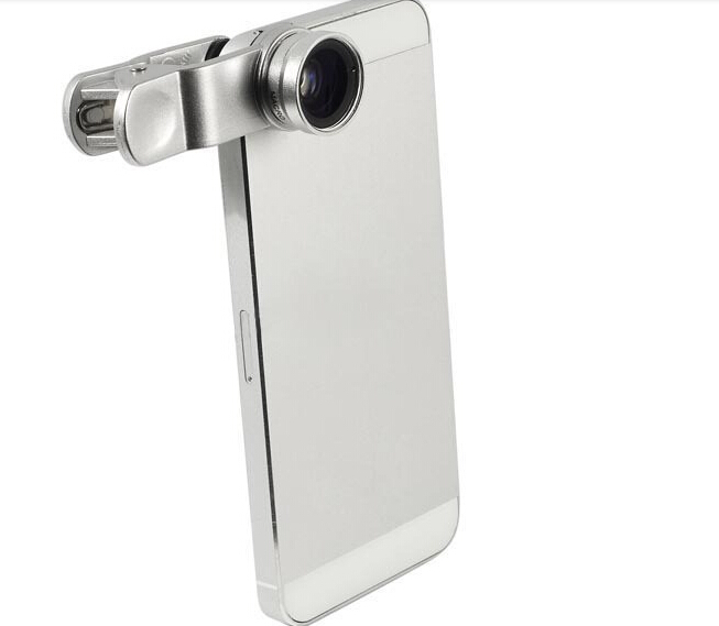 3in1 Clip-On Fish Eye Lens Wide Angle Macro Mobile zte nubia z5s mini samsung galaxy s4 cases cover - AYU Trade Company store
