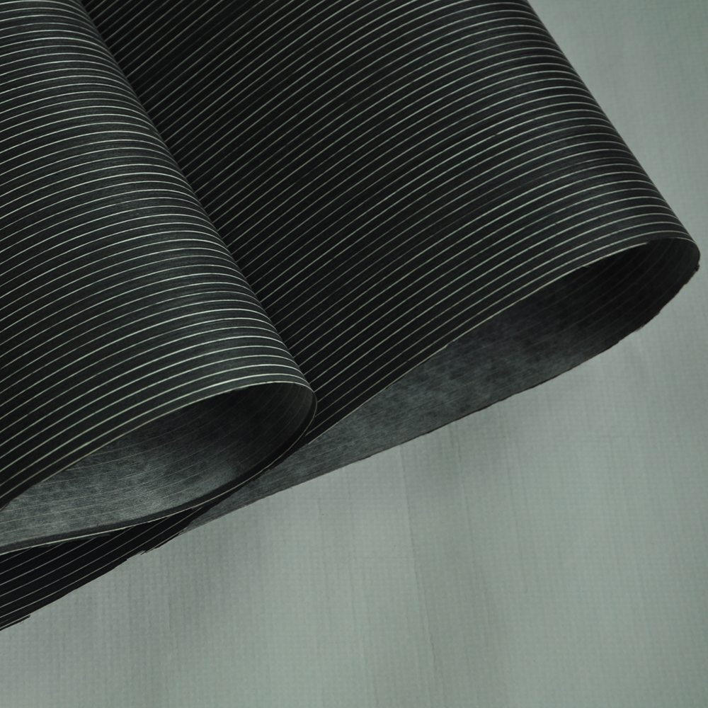 Macassar Ebony Engineered Wood Veneer With Fleece Backer
