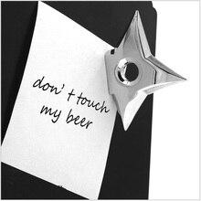 Магниты на холодильник Самурай шурикен ниндзя Дротика креативный треугольный пятиконечная звезда холодильник магнитный стикер сообщений детская игрушка
