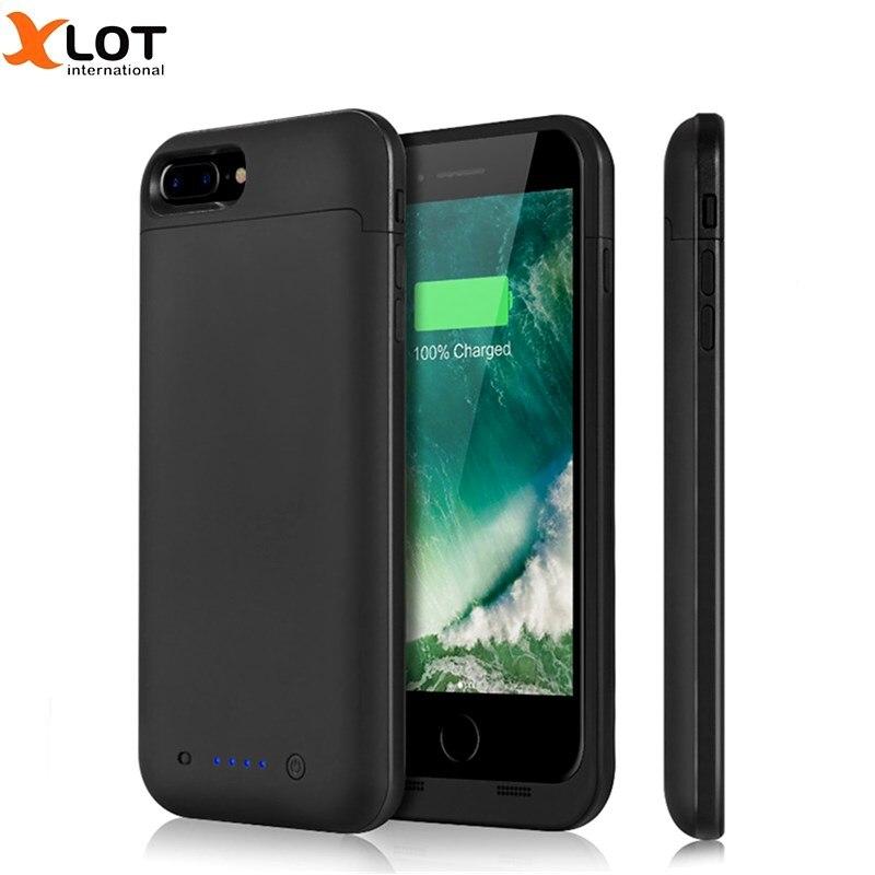 imágenes para Caso Del Cargador de Batería externa para el iphone 7 7 Plus 4500/7000 mAh batería de Reserva Estuche De Carga Del Banco de Potencia para 7 7 Plus