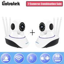 Lintratek IP WiFi камера безопасности HD 1080 P мини видеонаблюдения CCTV камера комбинированная продажа беспроводной PTZ домашний монитор IPCam