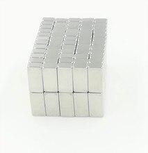 10 шт./лот 10x5x3 мм супер сильный маленький мощный блок магнит редкоземельных неодимовые магниты 10*5*3