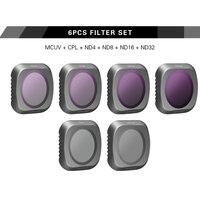 Sunnylife 6Pcs Filters for DJI MAVIC 2 PRO MCUV/CPL/ND4/ND8/ND16/ND32 Filter
