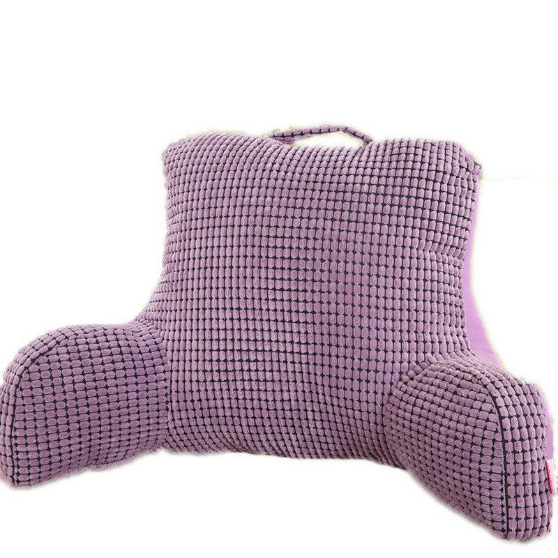 Bedrest Pillow To Watch Tv And Read In Bed Cotton Seat