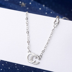 TOUCHEART Simple Zircon CC Letter Necklaces&Pendant For Women Crystal Jewelry Necklace Charm Statement Chain Necklaces SNE190131
